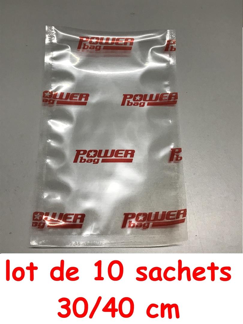10 sac powerseal 30-40cm