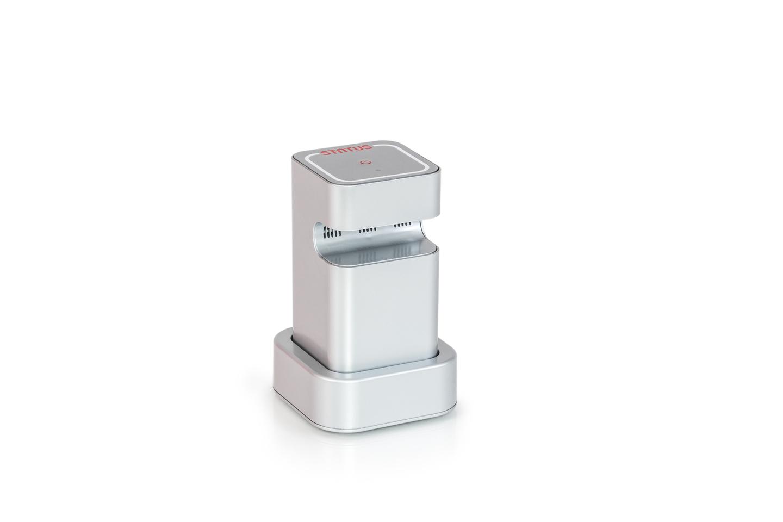 Pompe électrique batterie boites sous vide status