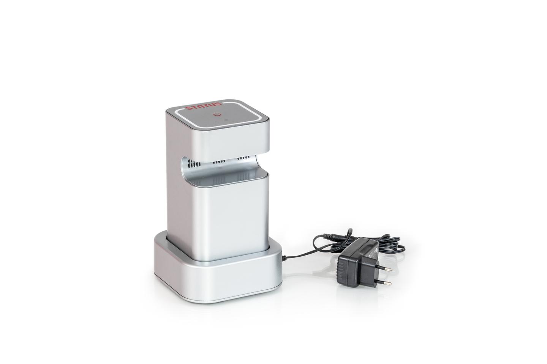 Pompe electrique batterie boites sous vide status