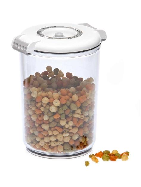 boite blanche sous vide ronde 1.5 litres