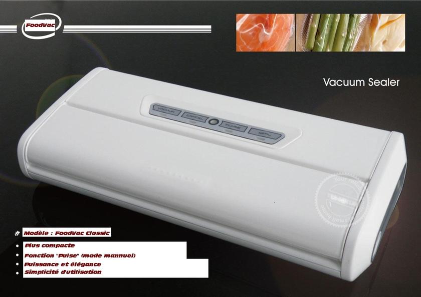 machine soçus vide FoodVac classic