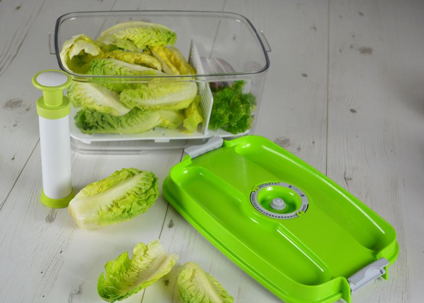 boite sous vide salade