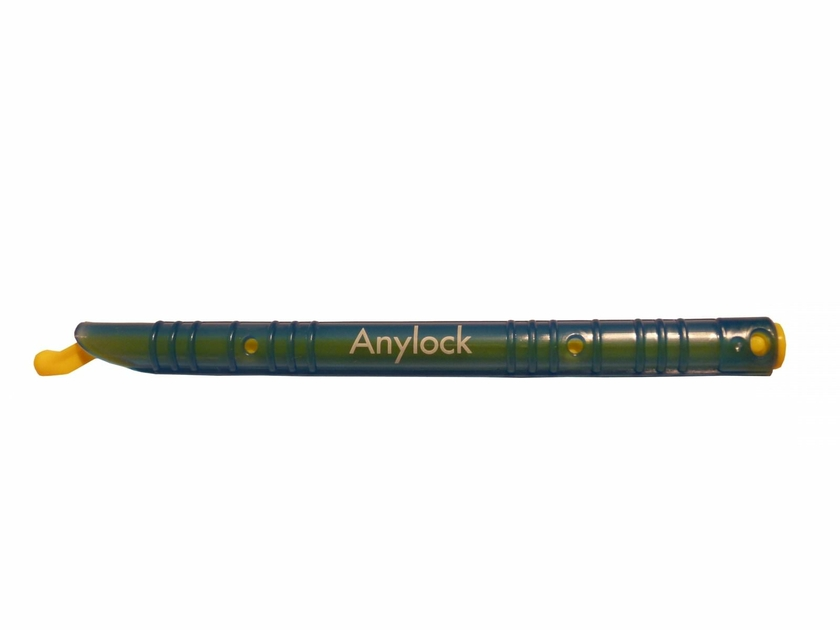 fermeture hermetique de sac et sachets anylock Baguette Anylock bleue 13 cm