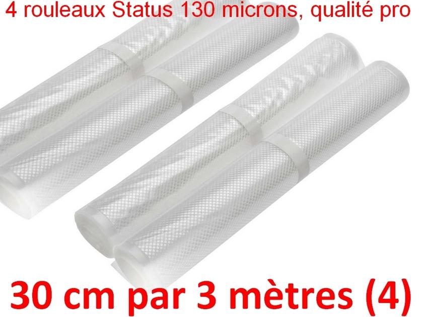 4 rouleaux sous vide 30 cm