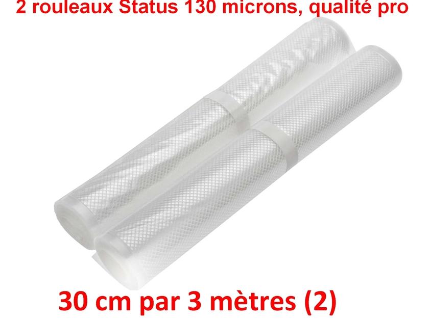 2 rouleaux sous vide 30 cm