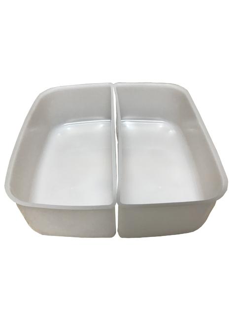 bac separateur boite 2 litres carrée