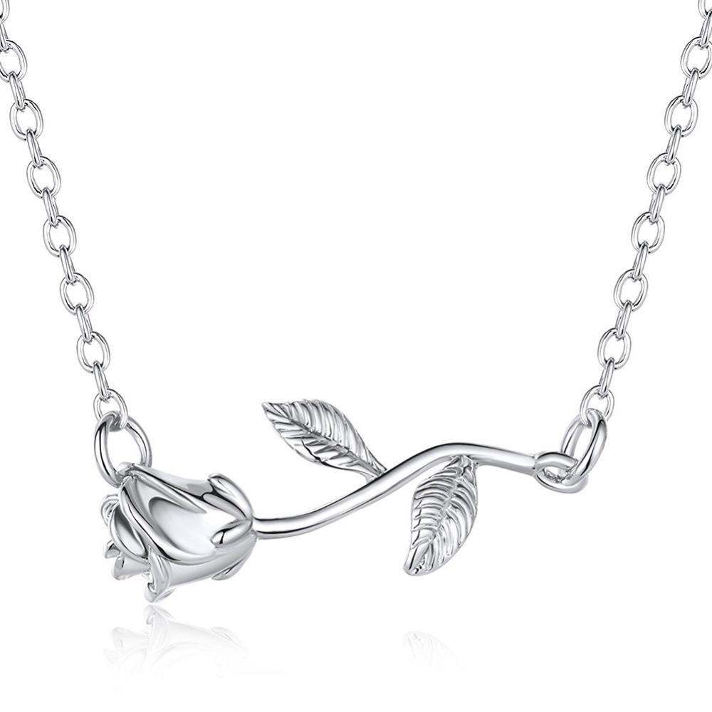 Bracelet de Cheville Rose Fleur
