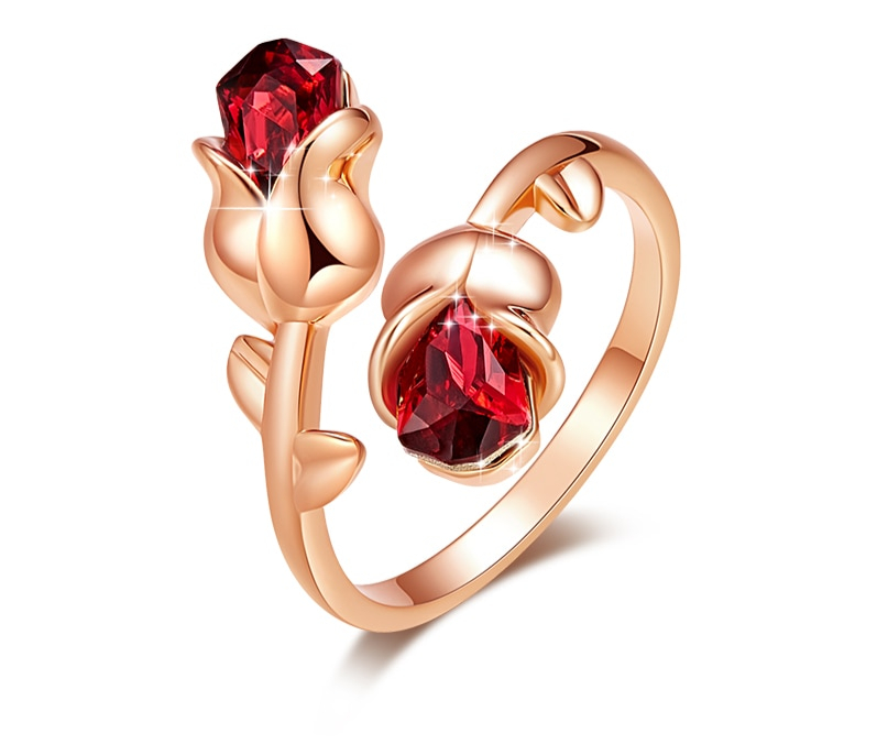 Bague_2_rose_rouges_cristal_or