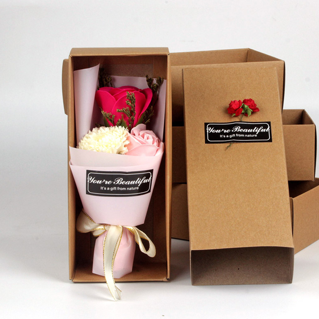 Petit Bouquet Roses Éternelles