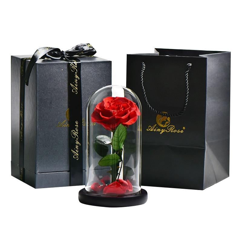 Coffret Cadeau Rose Éternelle