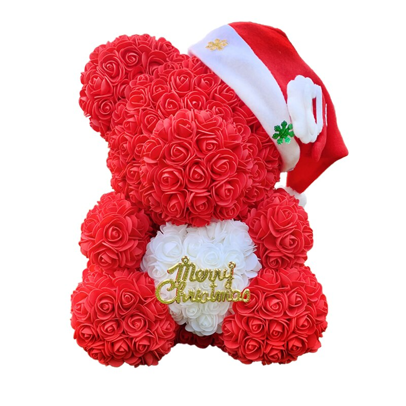 Grand_Ours_Rose_Éternelle_Noël_rouge