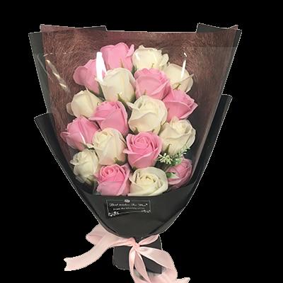Bouquet Rose Éternelle