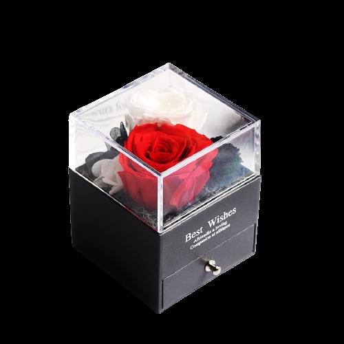 Boîte à Bijoux Rose Éternelle