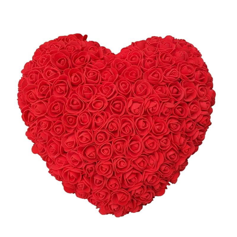 Cœur en Fleur Rose