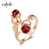 Cdyle-luxe-marque-bijoux-lumi-re-Siam-cristaux-Rose-fleur-anneau-r-glable-pour-les-femmes