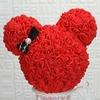 25cm-Rose-ours-fleur-ternelle-Rose-ours-t-te-saint-valentin-cadeau-romantique-artificiel-Rose-ours