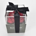 Bo-te-bijoux-fleur-Rose-sans-fin-belles-fleurs-rouges-100-langues-je-t-aime-collier