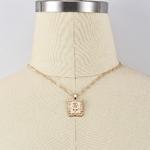 ALYXUY-nouveau-mode-Dragon-pendentif-colliers-pour-femmes-couleur-or-Rose-collier-ras-du-cou-mascotte