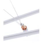 Collier_rose_fleur_diamant_argent