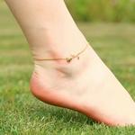 bracelet_cheville_fleur_rose_mignon