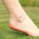 bracelet_cheville_fleur_rose_femme