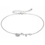 bracelet_cheville_fleur_rose_argent