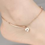 bracelet_de_cheville_rose_fleur_or_creatif