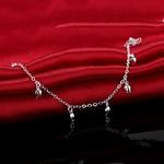 bracelet_de_cheville_rose_fleur_argent_tombante