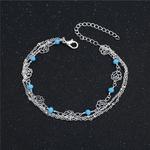 bracelet_de_cheville_rose_fleur_argent_voyage