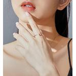 Bague_rose_fleur_argent_massif_diamant_ajustable_zircon