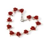 bracelet-12-fleur-rose-argent