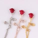 Bracelet-Rose-rouge-Simple-fleur-Bracelet-Bracelet-saint-valentin-cadeau-pour-petite-amie-3-couleur-femmes