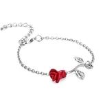 Bracelet_Fleur_Rouge_argent