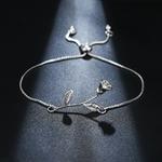 bracelet_fleur_ajustable_argent