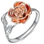 bague_rose_fleur_argent