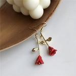 boucles_d'oreilles_fleur_rouge