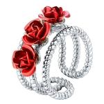 bague_fleur_rose_rouge_argent