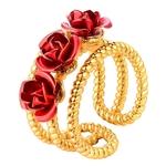 bague_fleur_rose_rouge_or