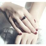 bague_noire_fleur_rose_femme_dark