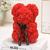 Ours_en_fleur_25cm_rouge