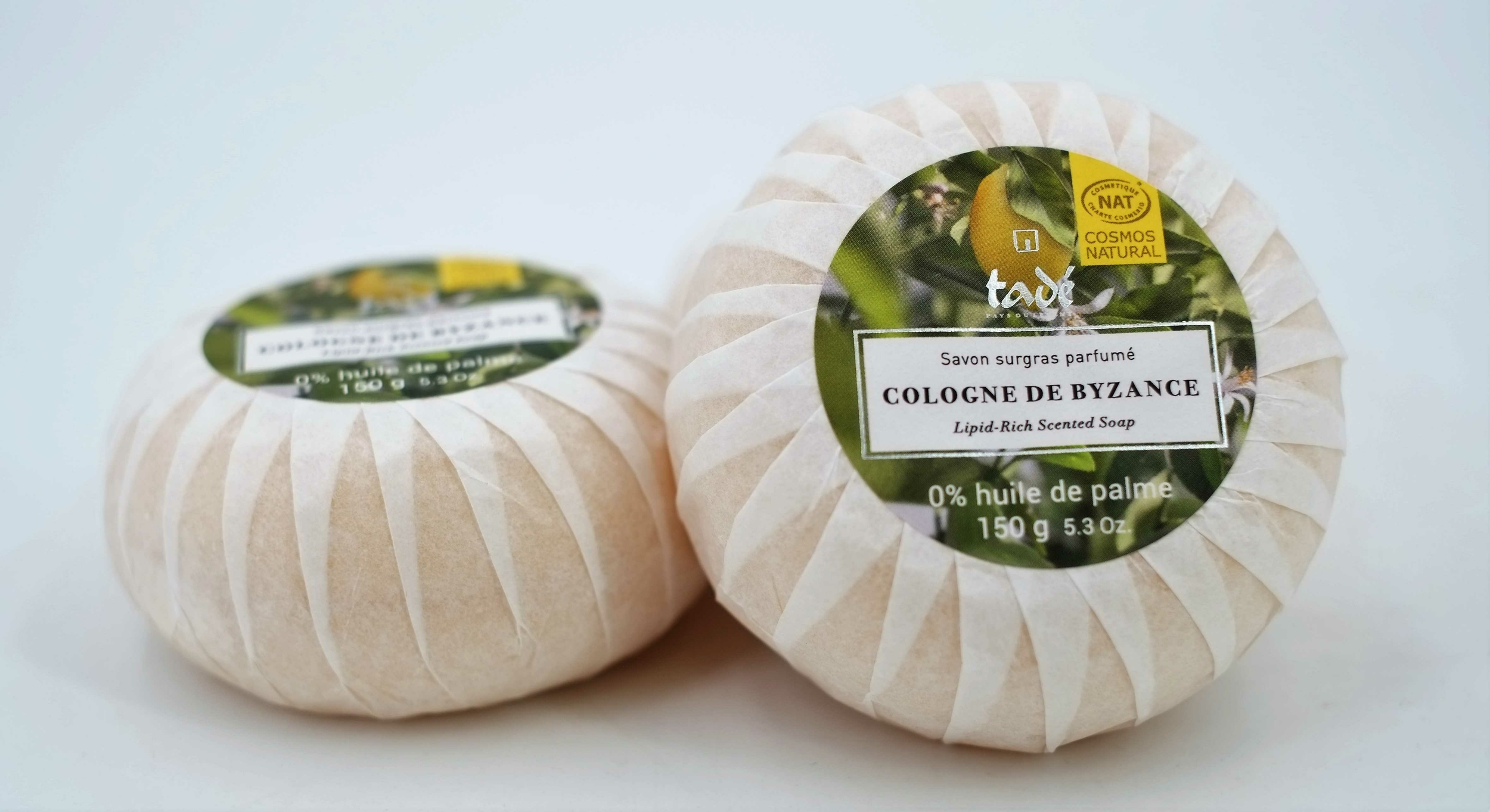 Savon surgras parfumé Cologne de Byzance