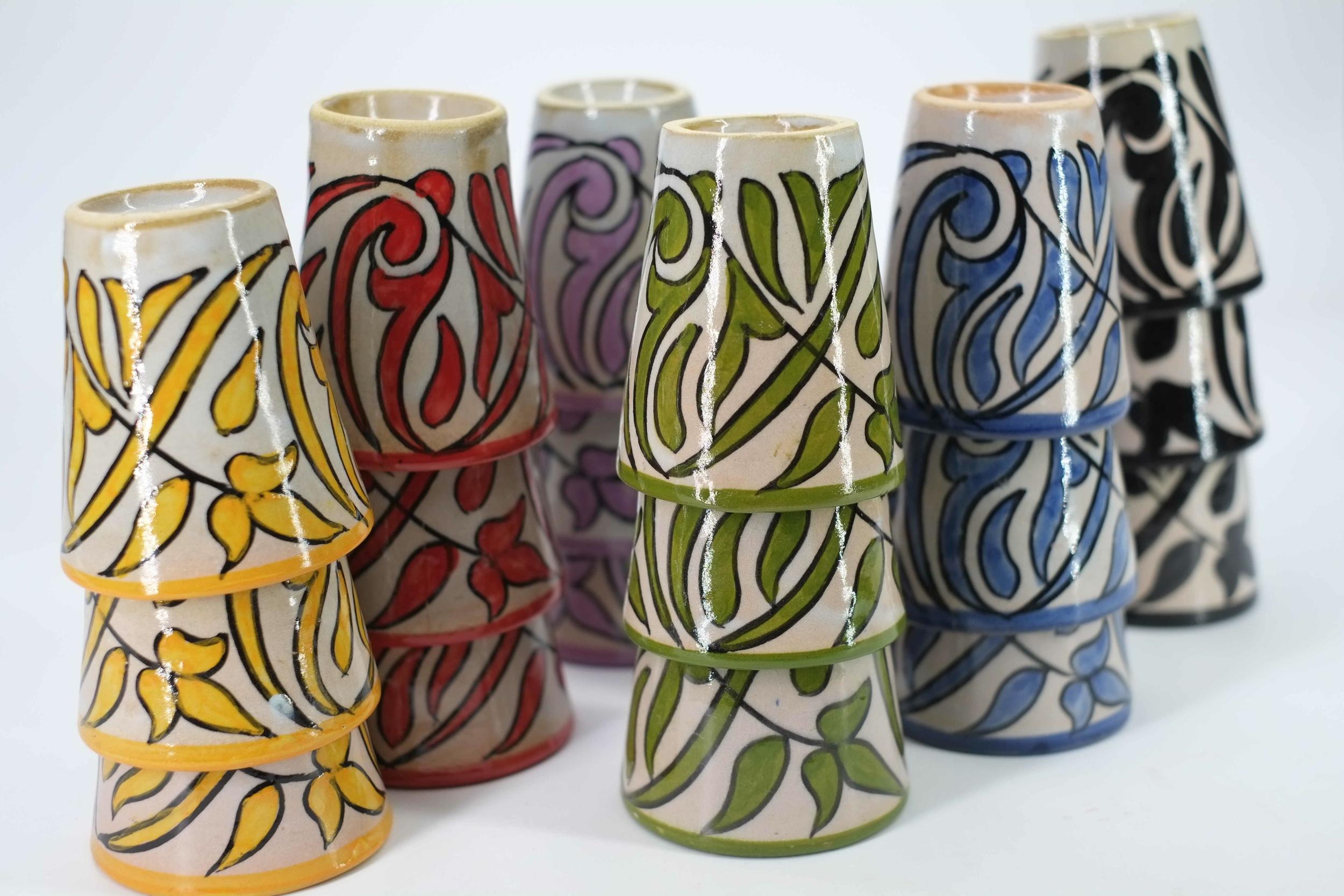 Tasse en céramique de Fès - Maroc