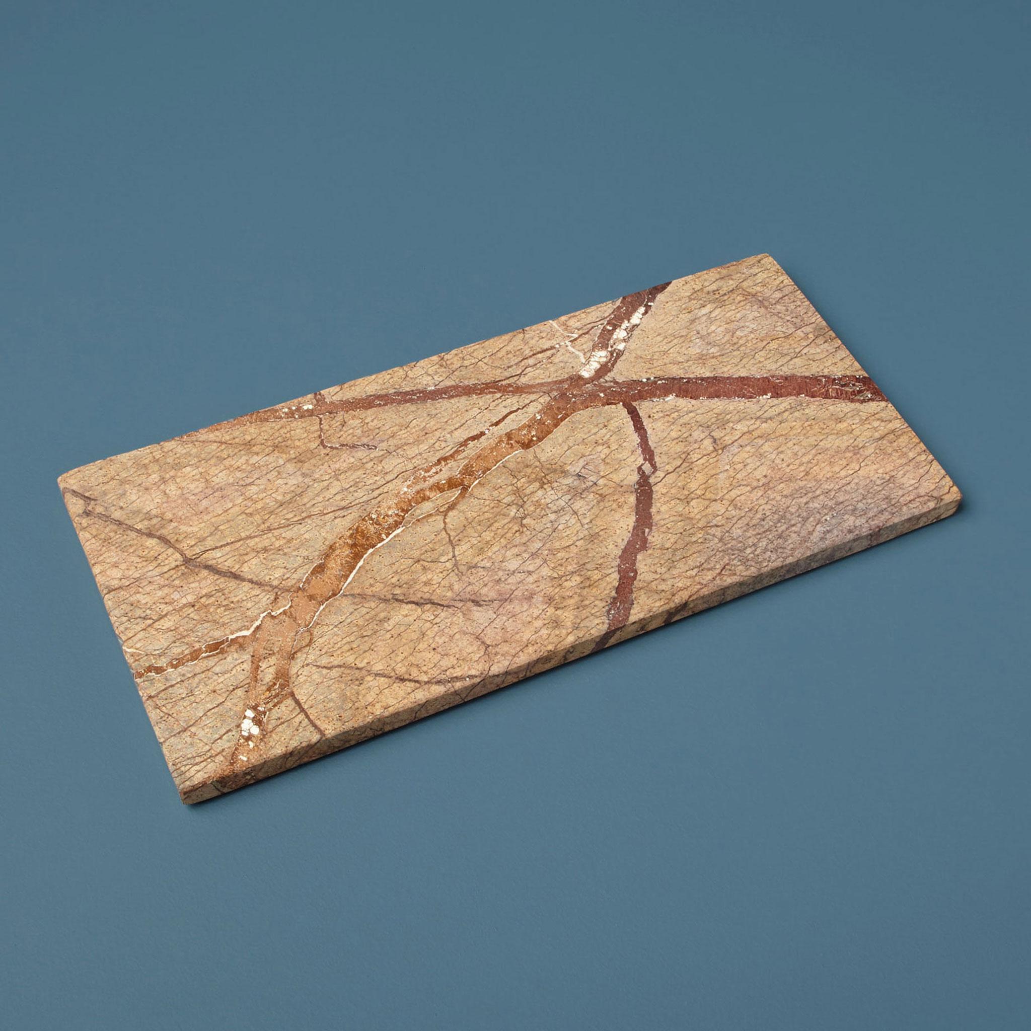 Dessous de plat en pierre marble forest d\'Inde