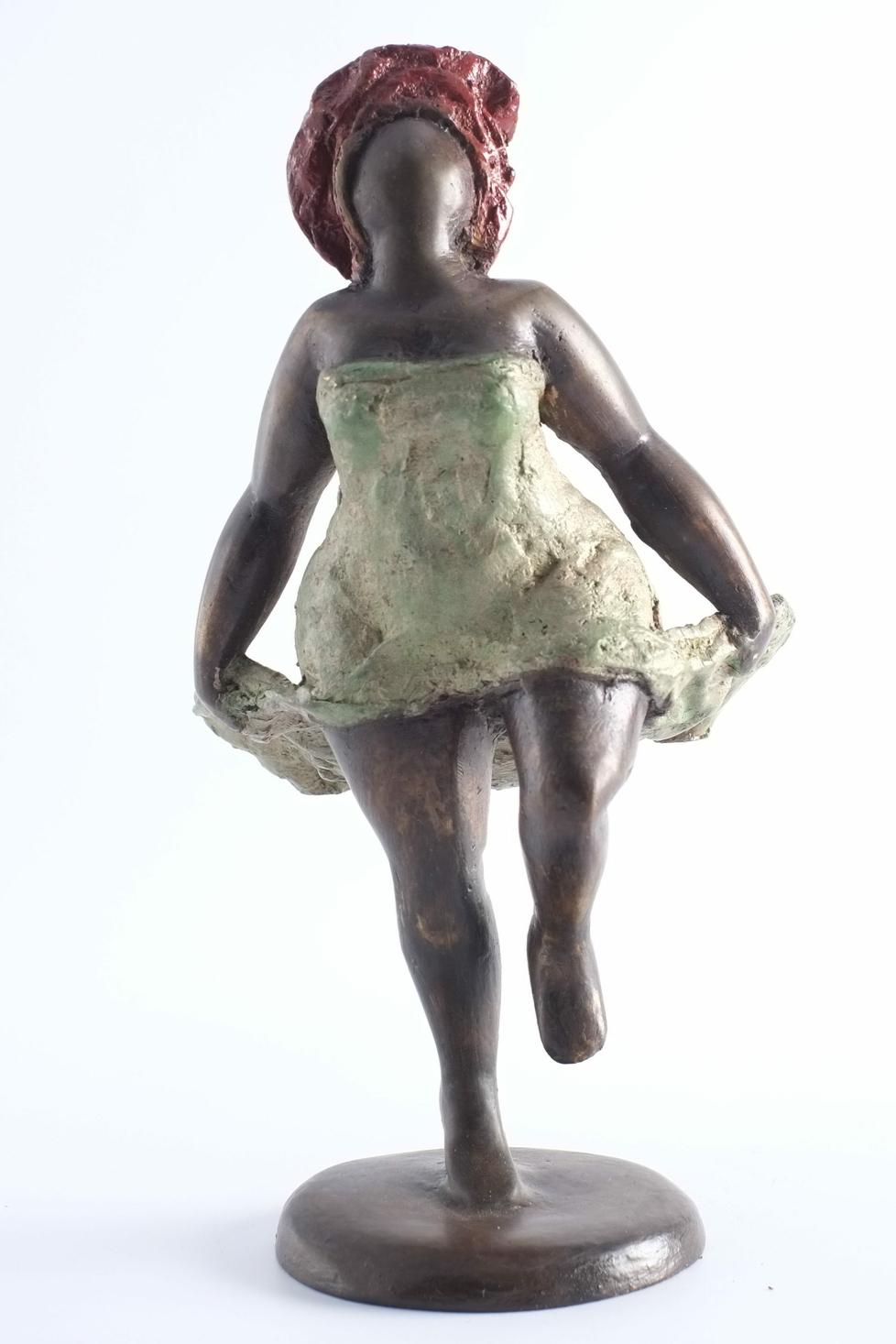 Femme en bronze du Burkina Faso -VENDUE