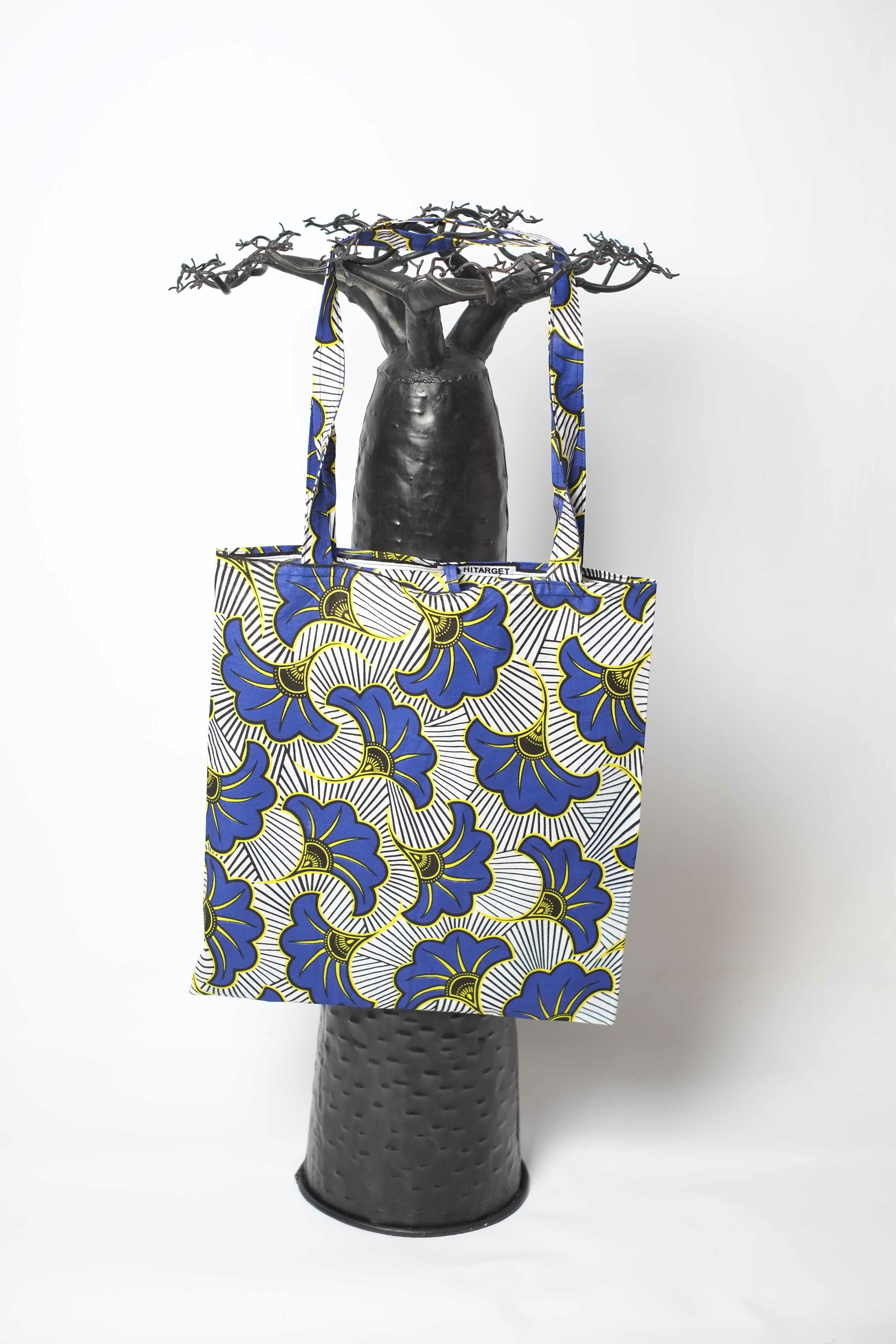 Tote bag en wax du Sénégal