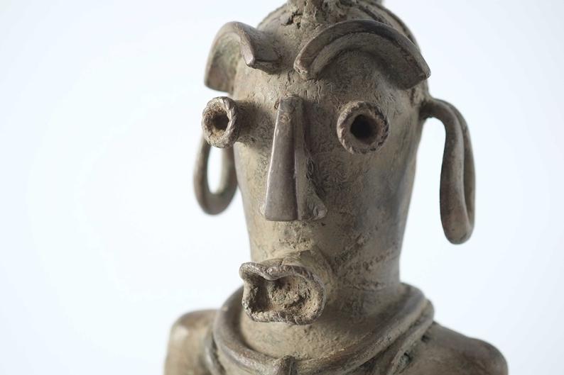 Bronze d\'un divinité Mumuye - Nigéria