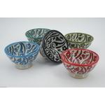 Bol céramique couleurs variées