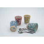 Gobelet céramique couleurs variées