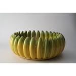 Saladier en céramique au décor de banane - Portugal