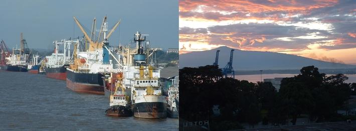 test portuaire Douala